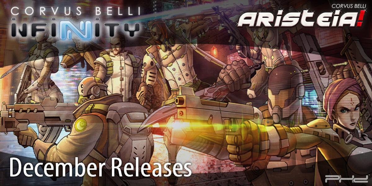 Infinity December 2020 Releases — Corvus Belli