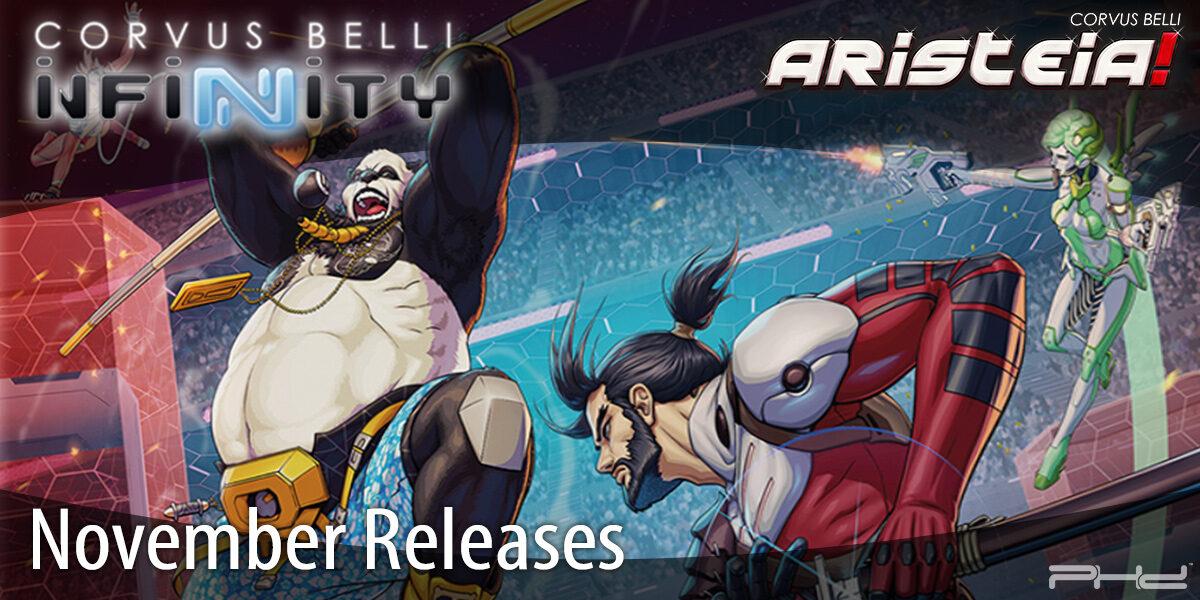 Infinity & Aristeia! November 2020 Releases — Corvus Belli