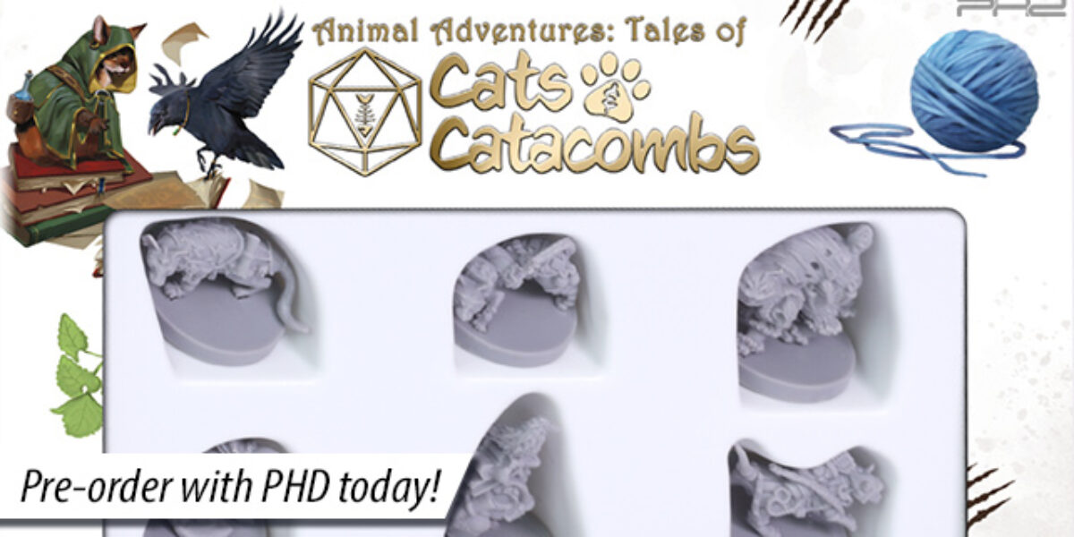 Animal Adventures: Tales of Cats & Catacombs Vol. 1 & 2 — Steamforged Games
