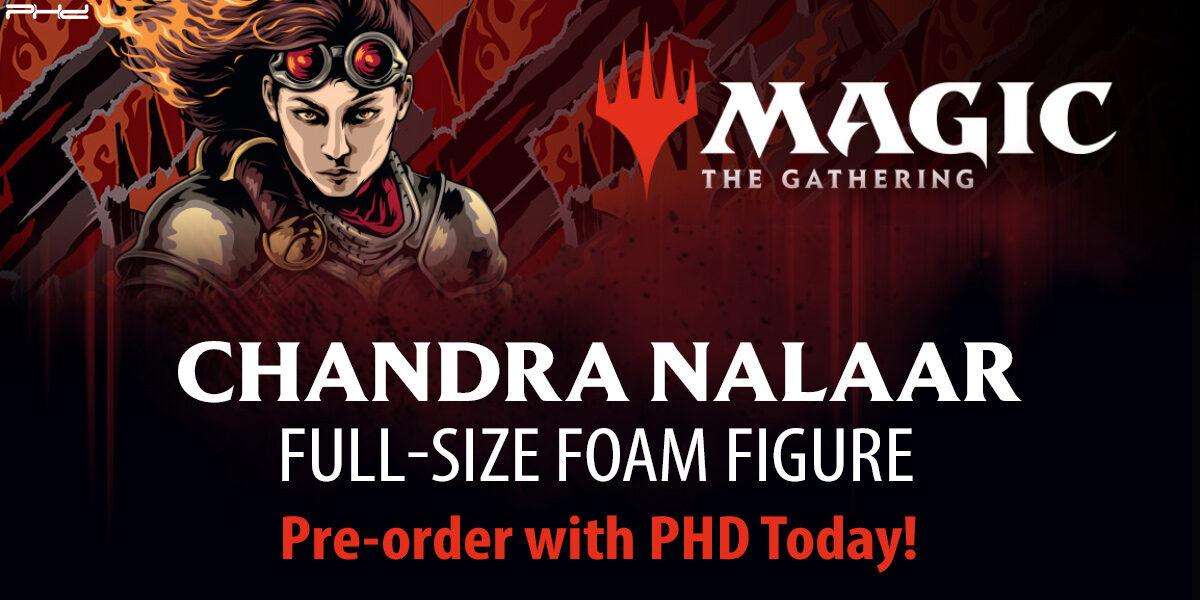 Magic: The Gathering Chandra Nalaar Full-Size Foam Figure — WizKids