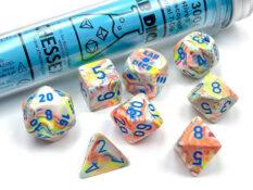 Festive® Polyhedral Kaleidoscope/blue 7-Die Set