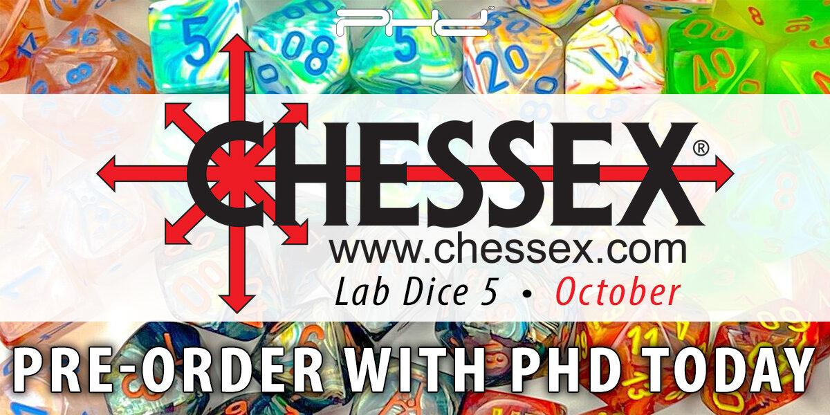 Lab Dice 5 — Chessex