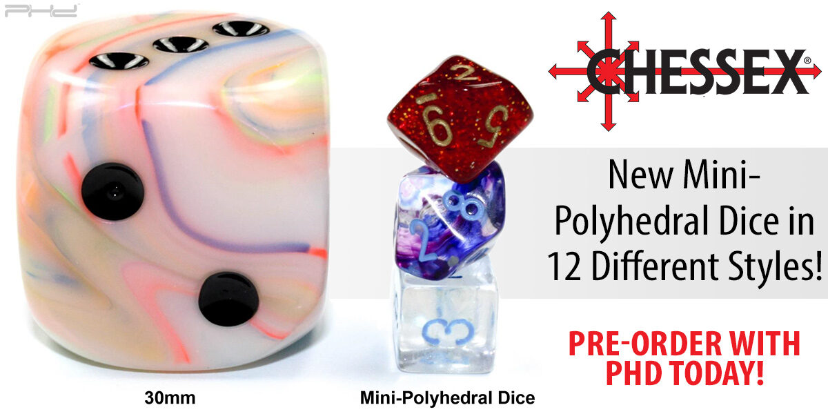 Mini-Polyhedral Dice Sets — Chessex