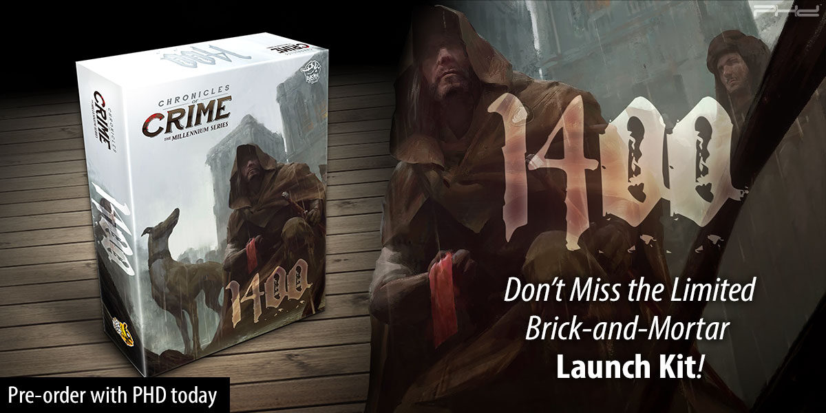 Chronicles of Crime: 1400 & Launch Kit — Lucky Duck Games