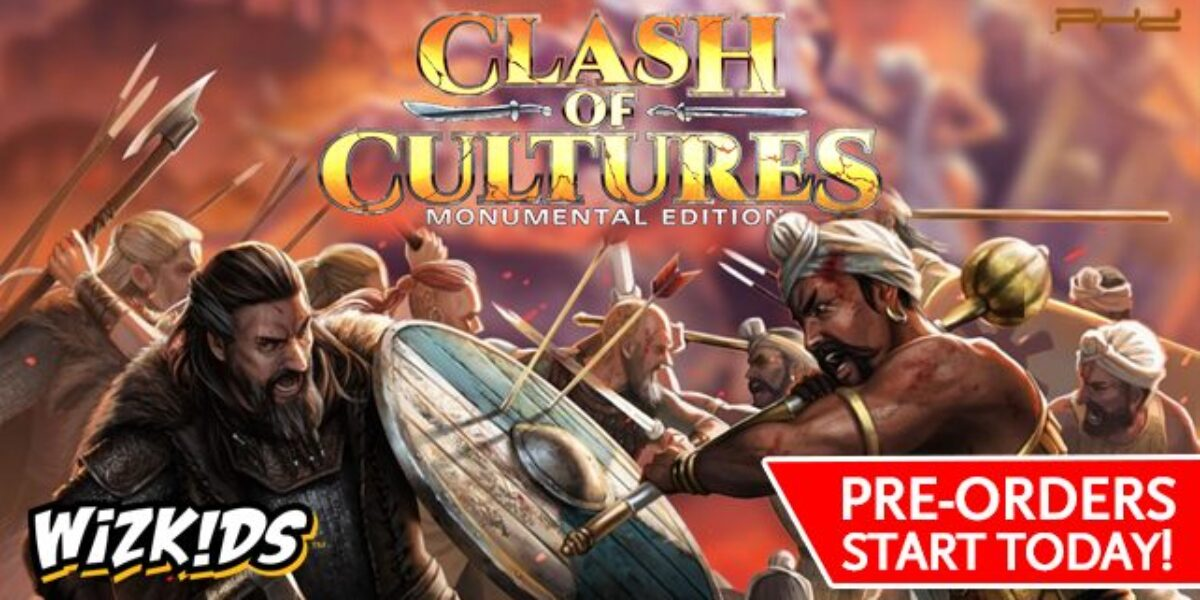 Clash of Cultures: Monumental Edition – WizKids