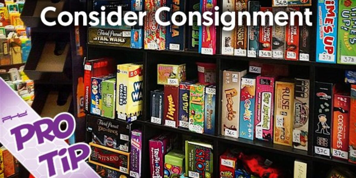 Consider Consignment