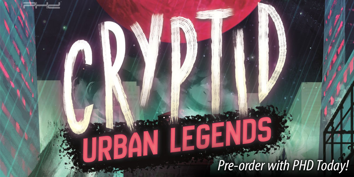 Cryptid: Urban Legends — Osprey Games