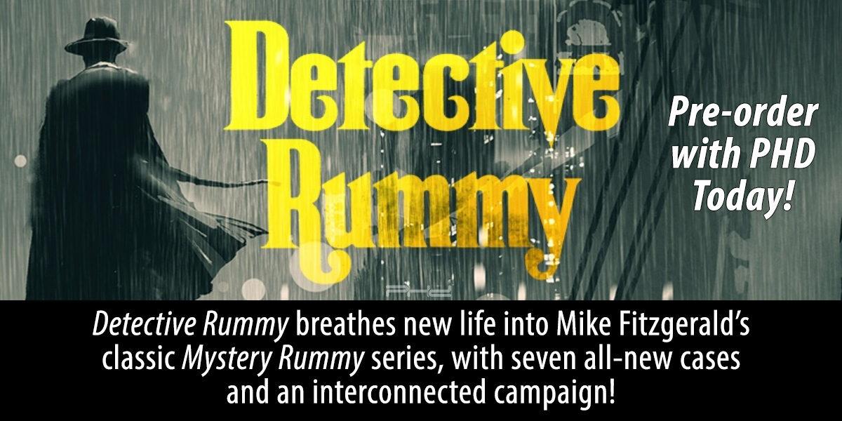 Detective Rummy — WizKids