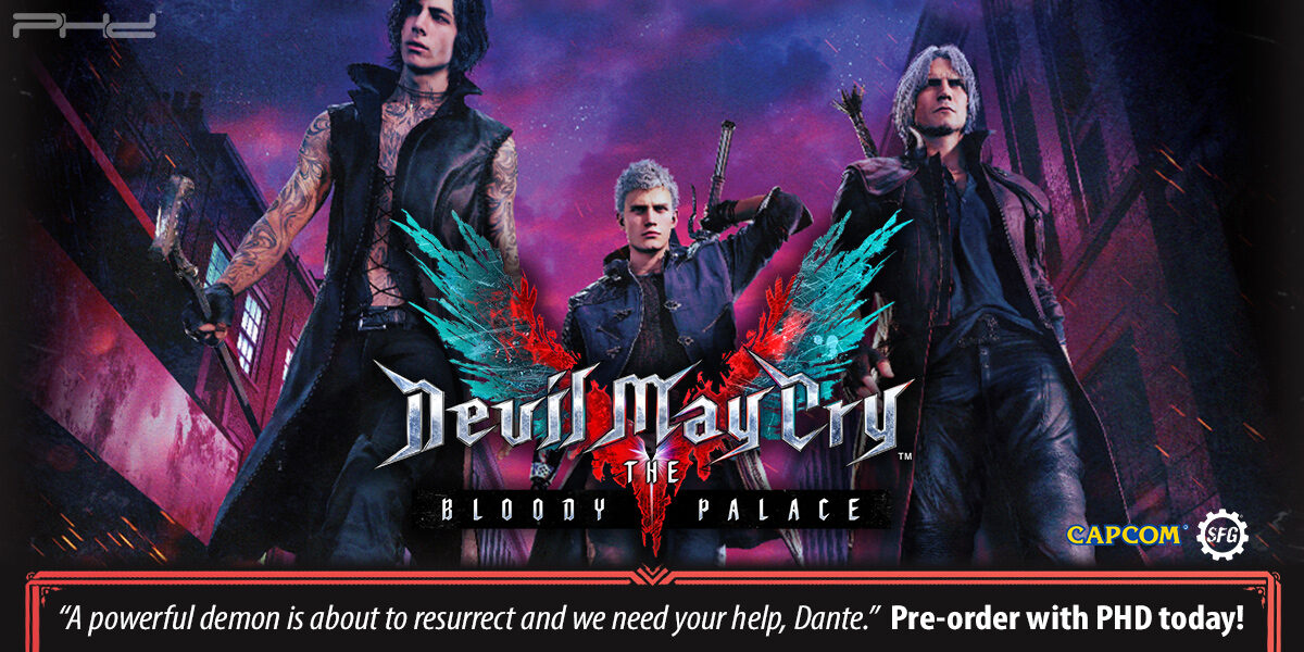 Devil May Cry: The Bloody Palace & The Walking Arsenal — Steamforged Games