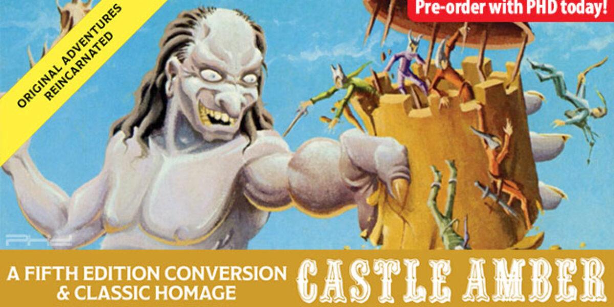 Original Adventures Reincarnated #5: Castle Amber — Goodman Games