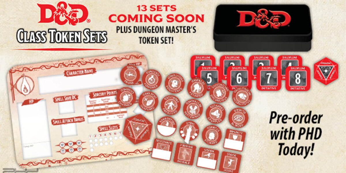 D&D Class Token Sets — Gale Force Nine