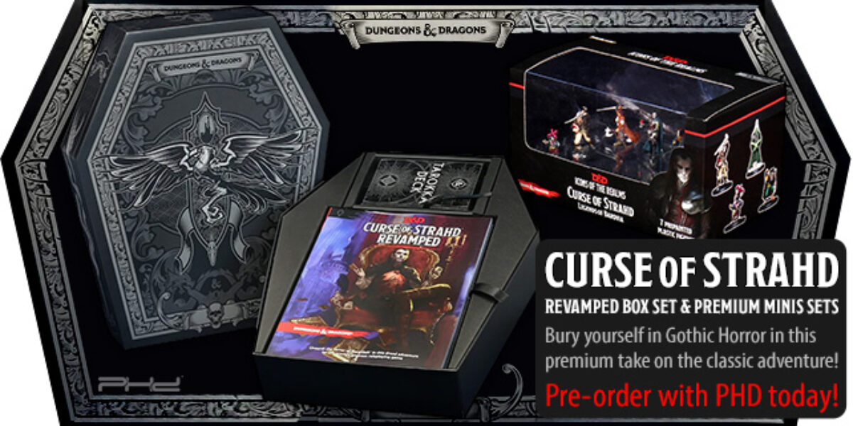 D&D Curse of Strahd: Revamped & Premium Minis Sets — Wizards of the Coast & WizKids