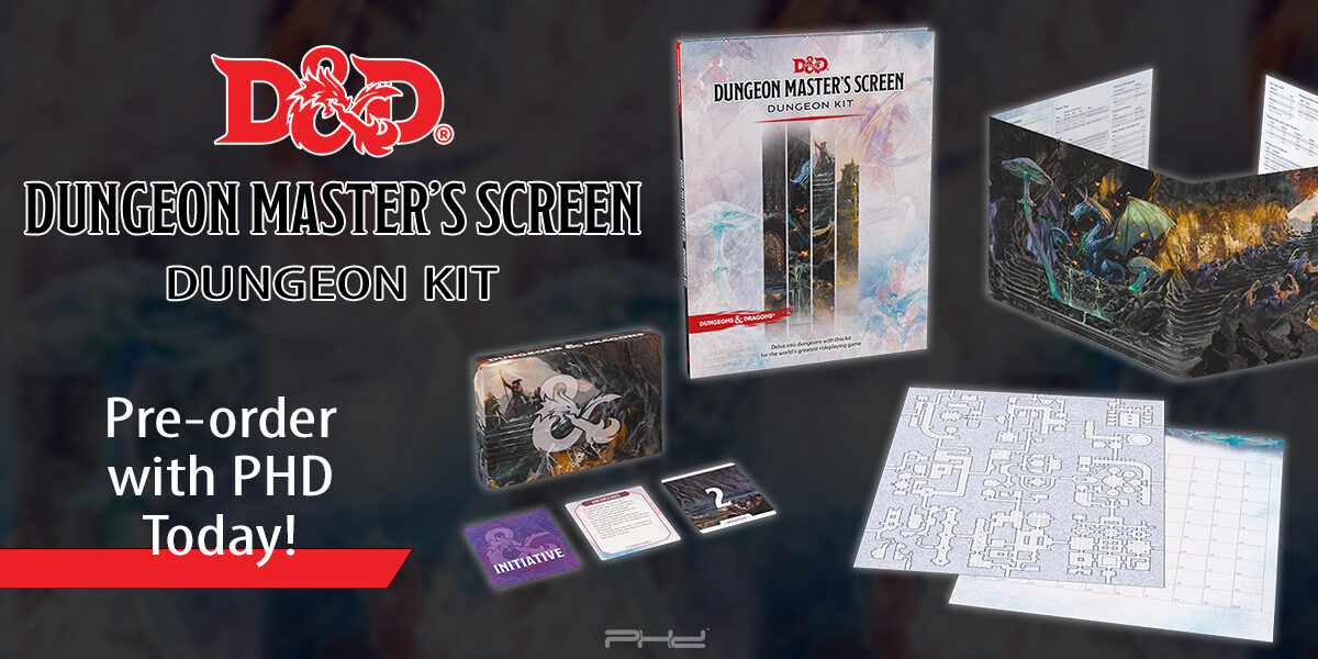Dungeons & Dragons: Dungeon Master's Screen Dungeon Kit — Wizards of the Coast