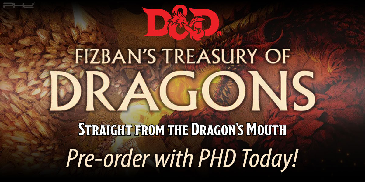 Dungeons & Dragons: Fizban's Treasury of Dragons — Wizards of the Coast
