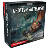 Dungeons & Dragons Ghosts of Saltmarsh Adventure System Board Game Expansion Premium