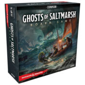 Dungeons & Dragons Ghosts of Saltmarsh Adventure System Board Game Expansion Standard