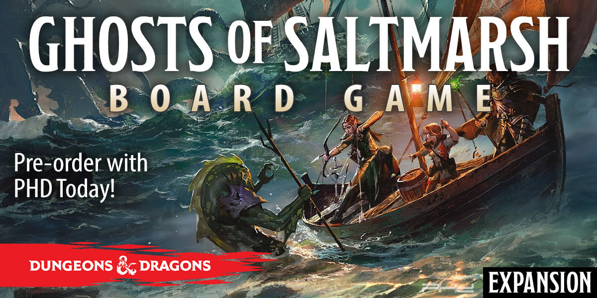 Dungeons & Dragons: Ghosts of Saltmarsh Adventure System Board Game Expansion — WizKids
