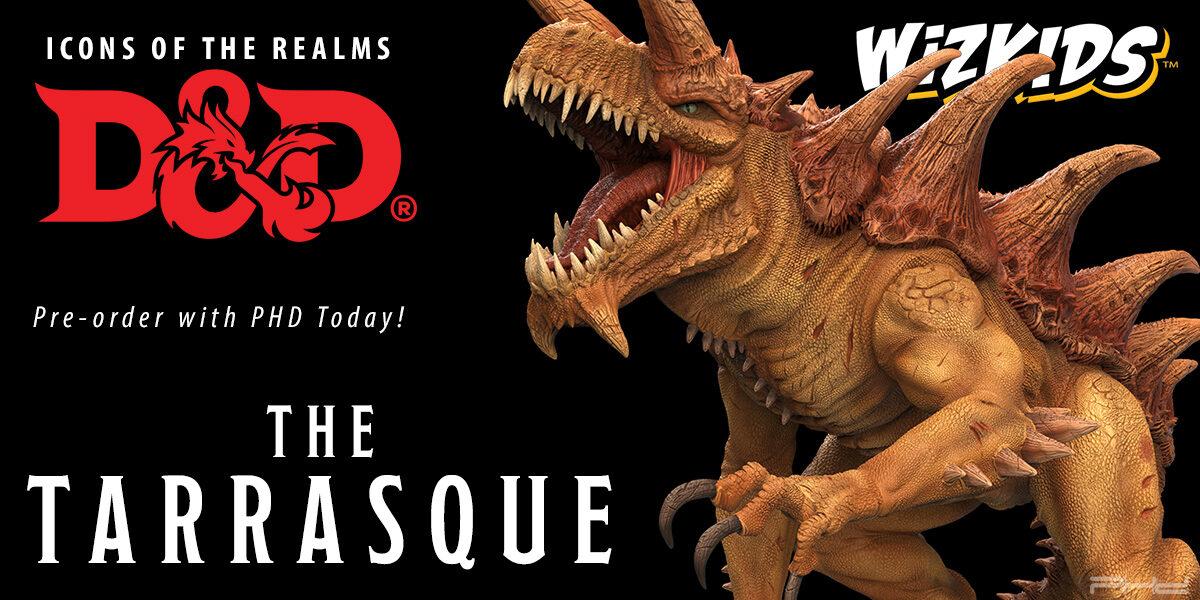 D&D Icons of the Realms: Gargantuan Tarrasque — WizKids