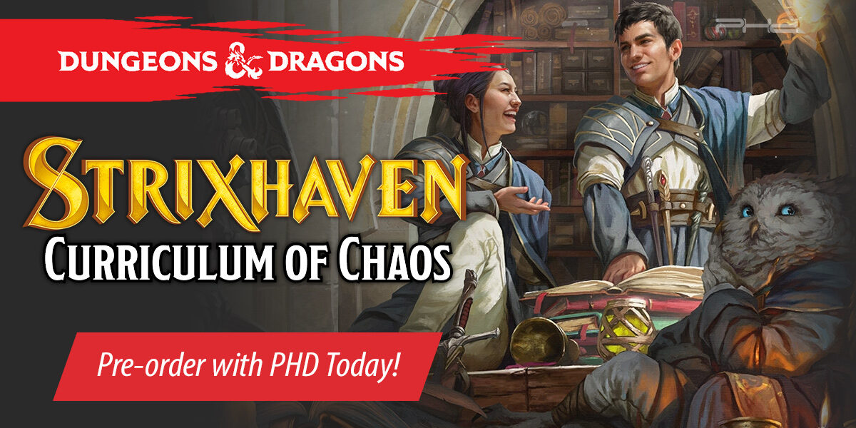 Dungeons & Dragons Strixhaven: A Curriculum of Chaos — Wizards of the Coast