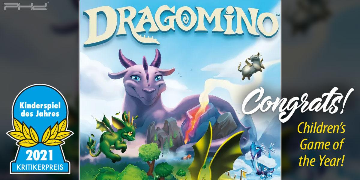 Dragomino is Kinderspiel des Jahres 2021! — Blue Orange Games