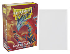 Dragon Shield Japanese-size Matte Clear Outer Sleeves
