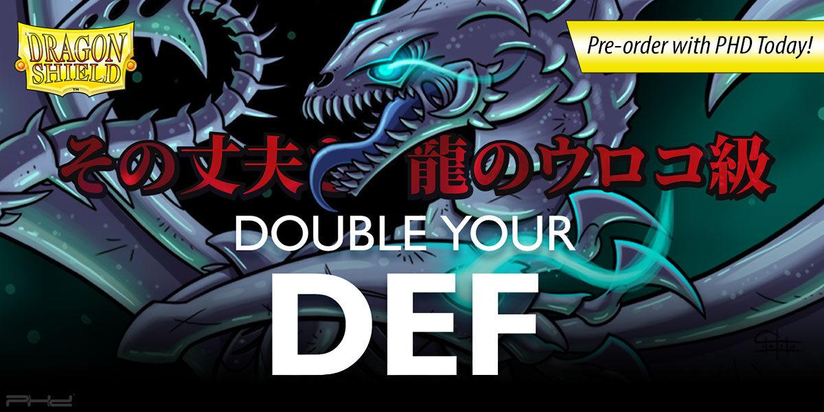 Dragon Shield Japanese-Size Double-Sleeving Supplies — Arcane Tinmen