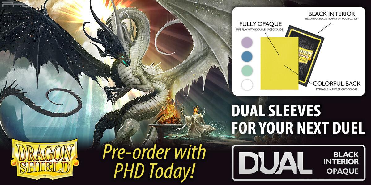 Dragon Shield Dual Matte Sleeves — Arcane Tinmen