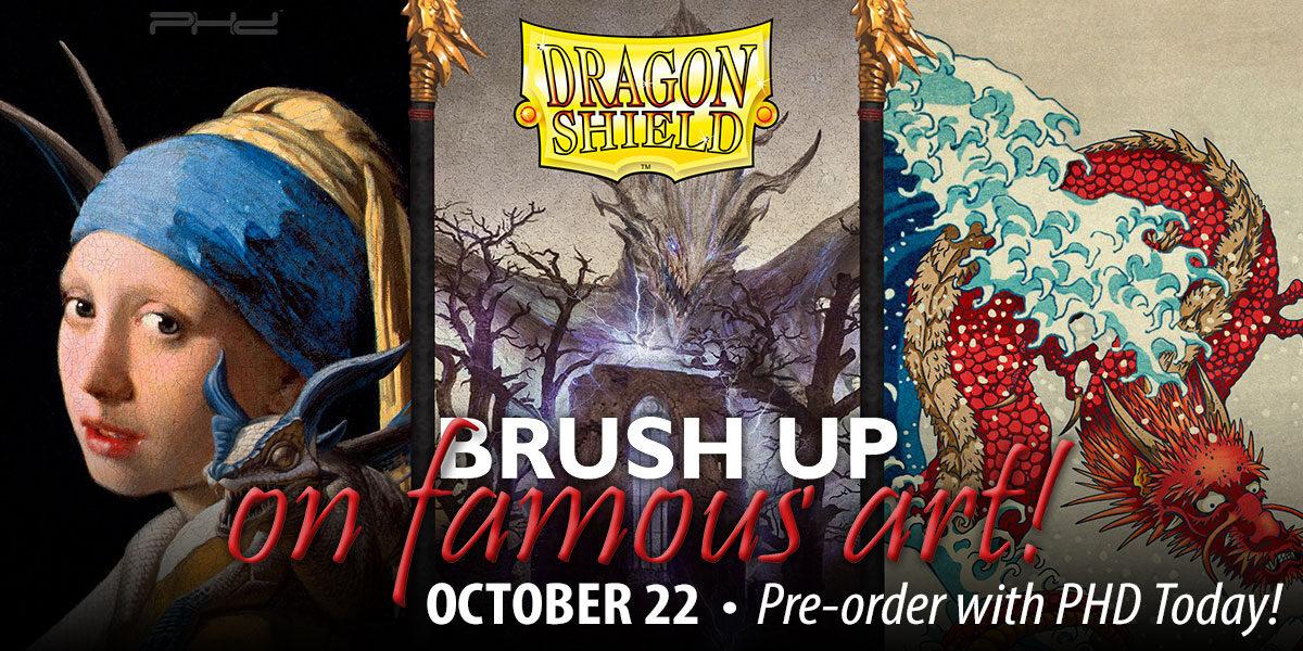 Dragon Shield: Brushed Art Sleeves, Volume 3 — Arcane Tinmen