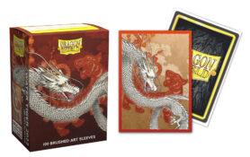 Dragon Shield Sleeves: Standard-Size Water Tiger Brushed Art