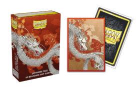 Dragon Shield Sleeves: Japanese-Size Water Tiger Brushed Art