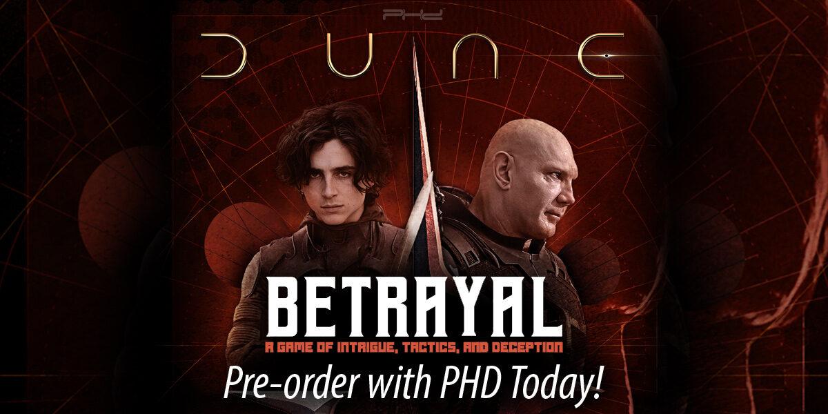 Dune: Betrayal — Gale Force Nine