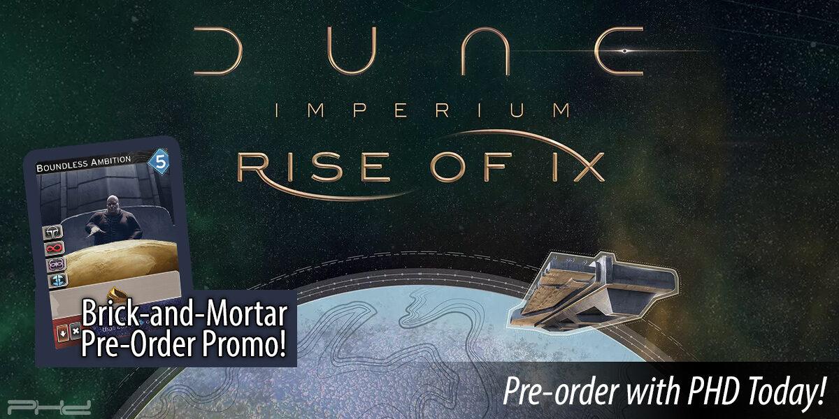 Dune Imperium: Rise of Ix — Dire Wolf Digital