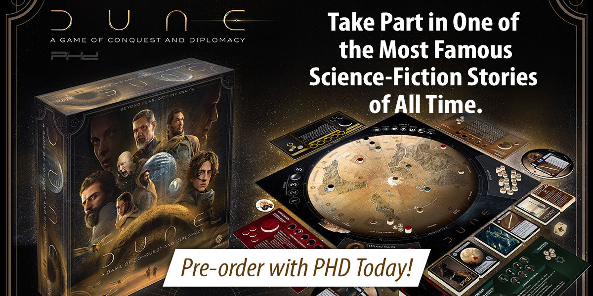Dune, A Game of Conquest and Diplomacy — Gale Force Nine