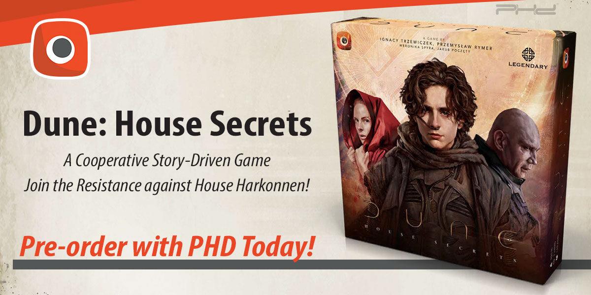 Dune: House Secrets — Portal Games