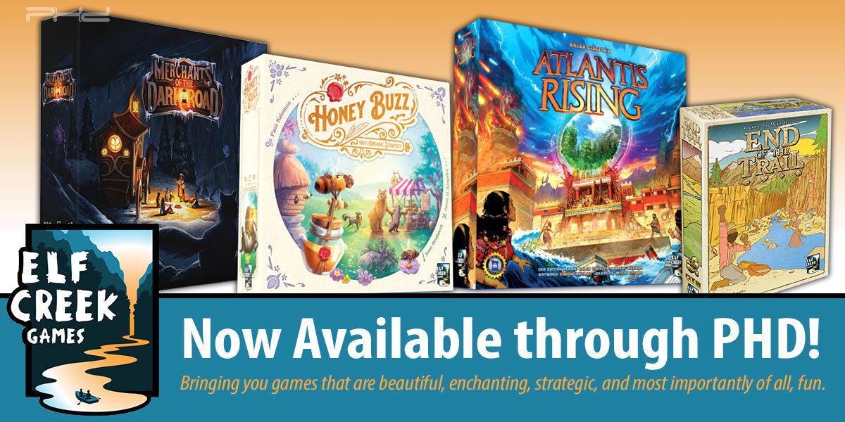 Elf Creek Games Joins PHD!