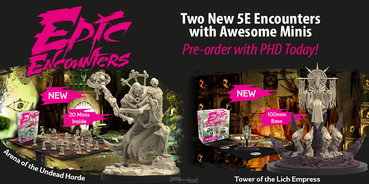 Epic Encounters: Tower of the Lich Empress & Arena of the Undead Horde — Steamforged Games