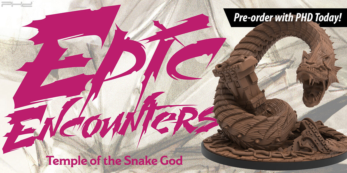 Epic Encounters: Temple of the Snake God — Steamforged Games