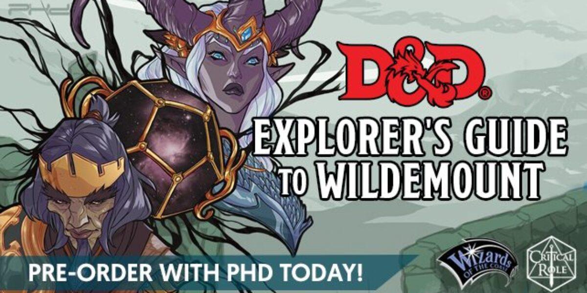 D&D Explorer's Guide To Wildemount – WOTC
