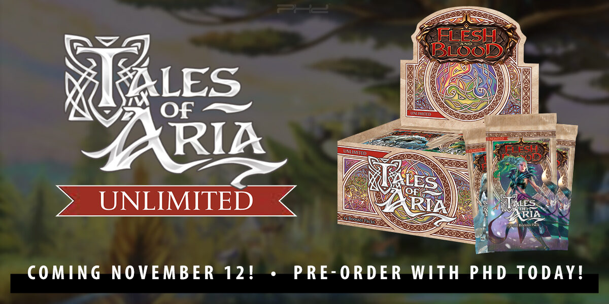 Flesh and Blood: Tales of Aria Unlimited — Legend Story Studios