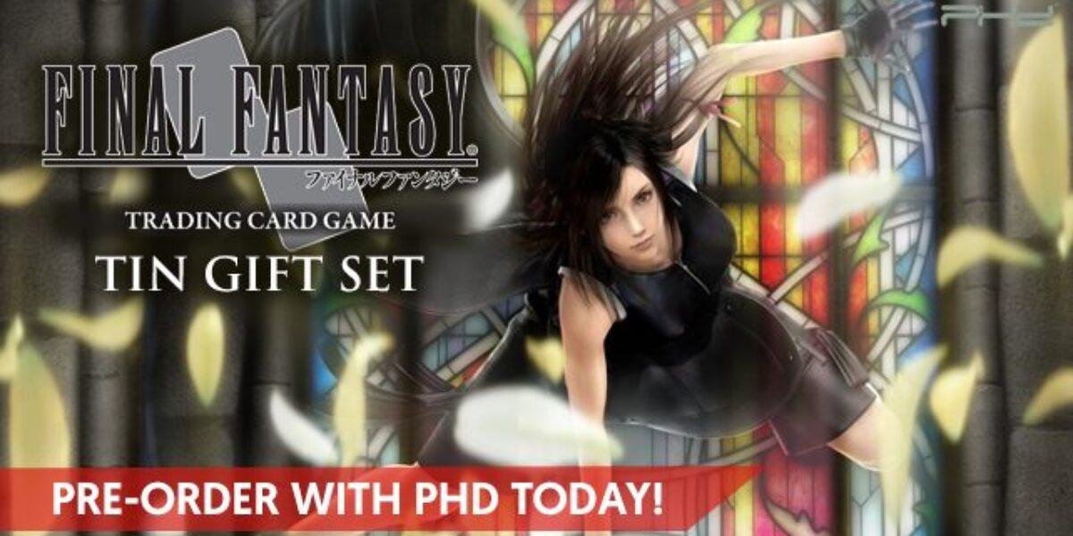 Final Fantasy TCG Tin Gift Set – Square Enix