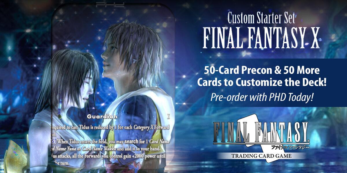 Final Fantasy TCG: Custom Starter Set — Square Enix