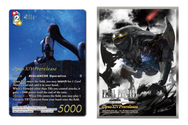 Crystal Abyss Prerelease Kit promo & sleeves