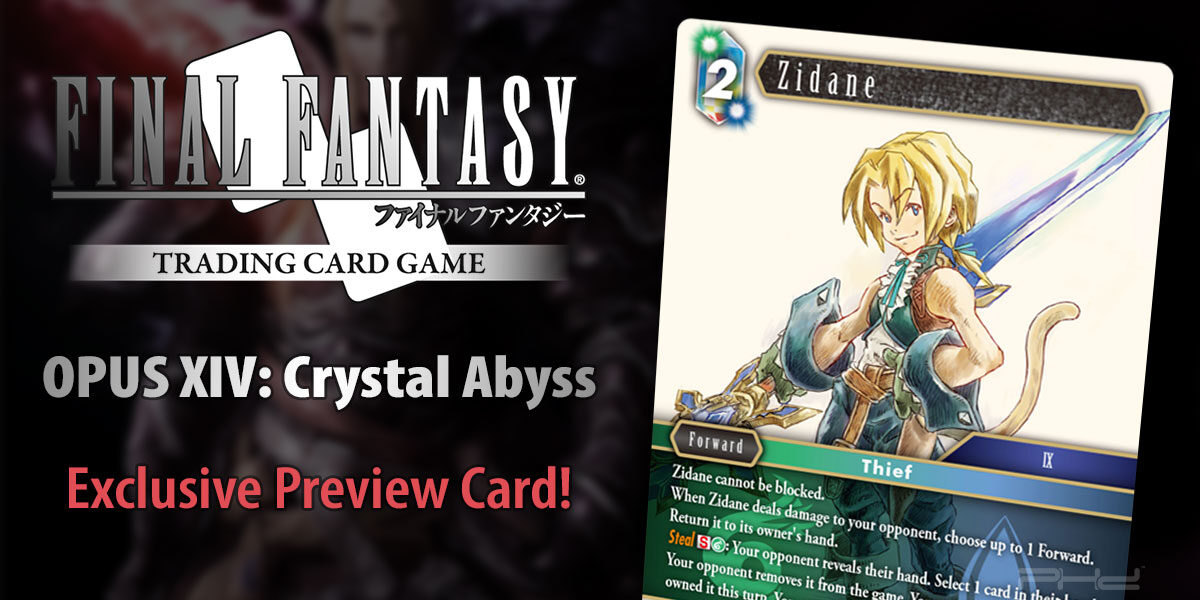 Final Fantasy TCG: Opus XIV Crystal Abyss Preview Card