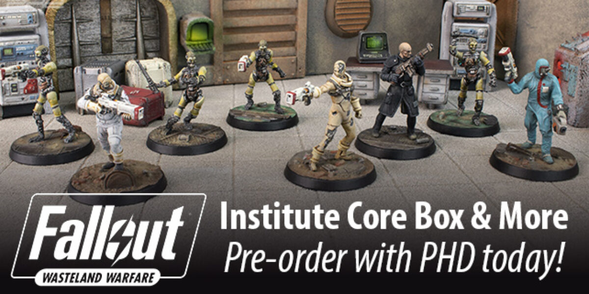 Fallout: Wasteland Warfare Institute & More — Modiphius Entertainment