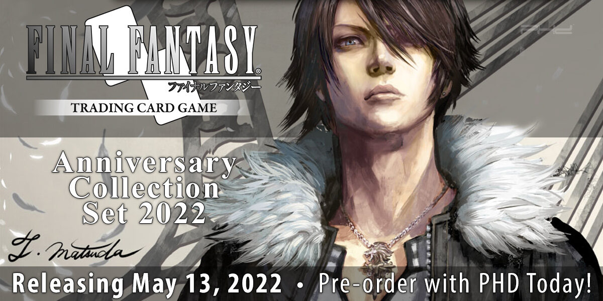 Final Fantasy TCG Anniversary Collection Set 2022 — Square Enix