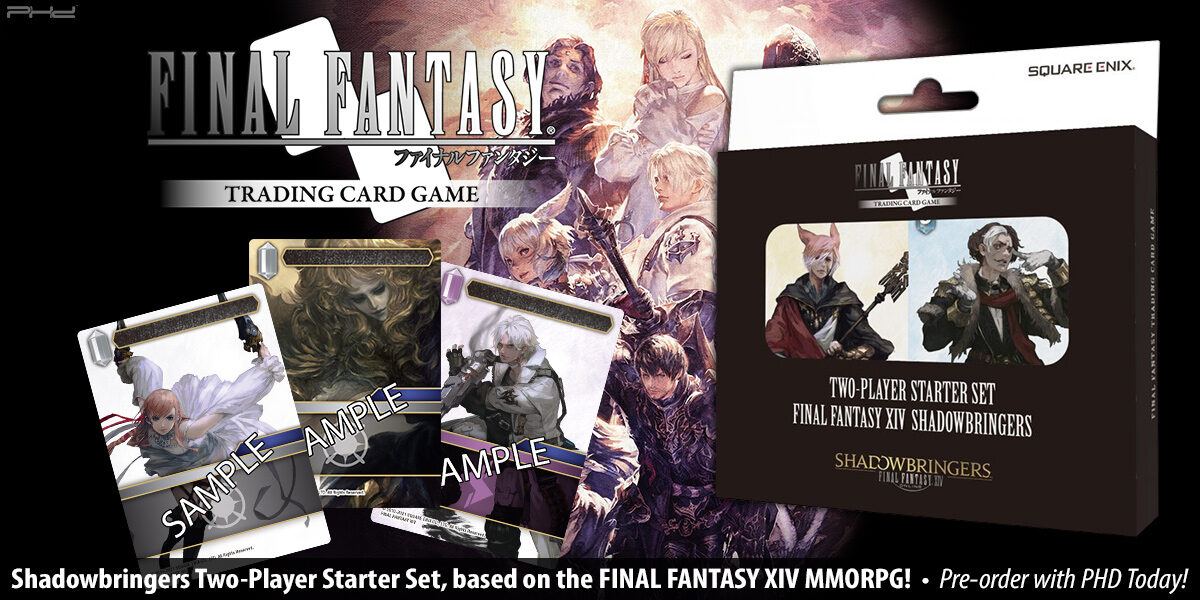 Final Fantasy TCG: Shadowbringers Two-Player Starter Set — Square Enix