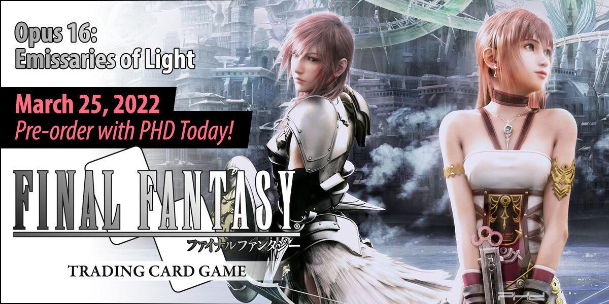 Final Fantasy TCG Opus 16: Emissaries of Light — Square Enix