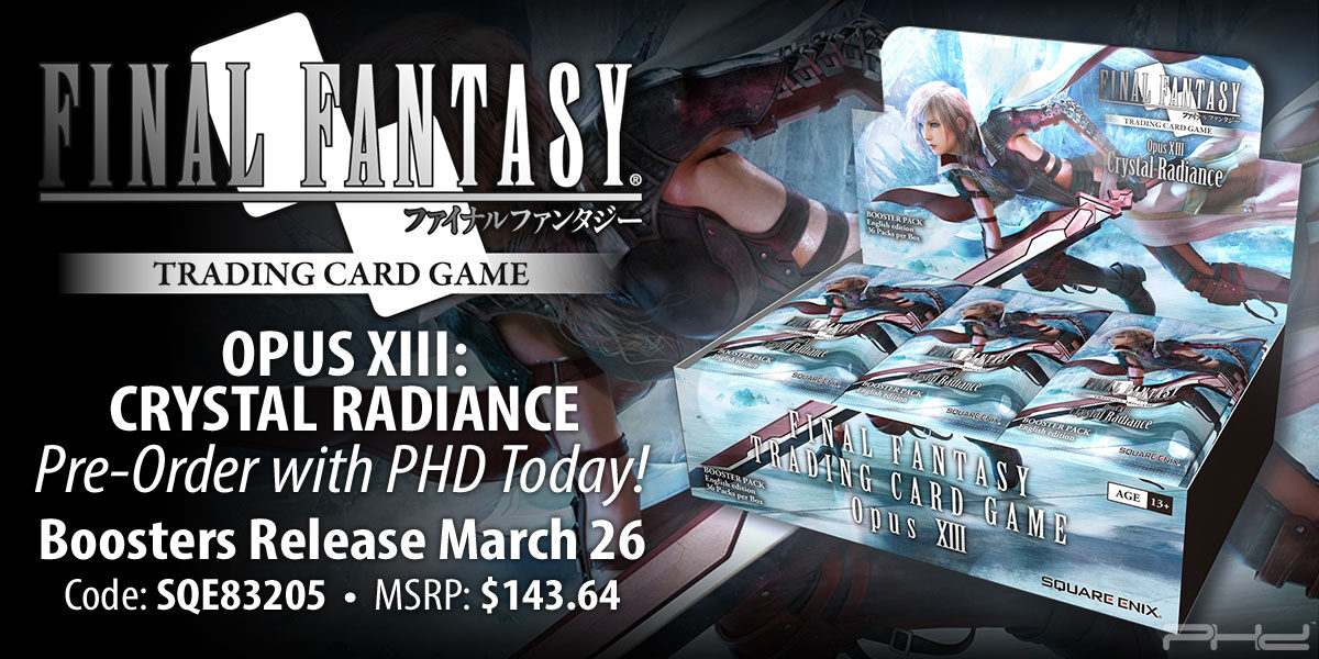Final Fantasy TCG Opus XIII: Crystal Radiance — Square Enix