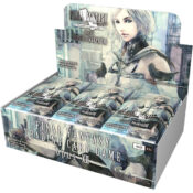 Final Fantasy TCG Opus XII: Crystal Awakening booster display