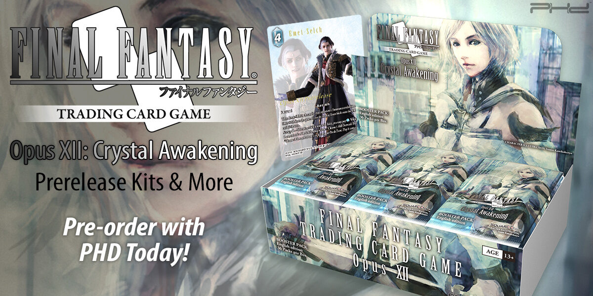 Final Fantasy TCG Opus XII: Crystal Awakening — Square Enix